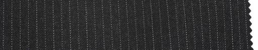 【Br_5s008】チャコールグレー地+6ミリ巾ドット交互ストライプ