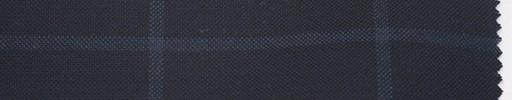 【Br_5s015】濃紺地+6×5cm薄ブルー・ウィンドーペーン