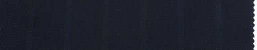 【Br_ss05】ダークネイビー+1.9cm巾ブルードットストライプ