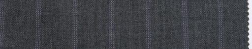 【Br_ss06】ミディアムグレー+1.9cm巾ライトパープルドットストライプ