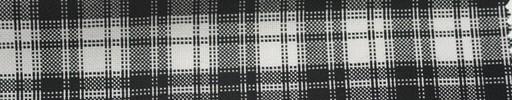 【Ca_5s006】白黒ファンシーチェック