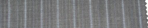 【P_6s24】シルバーグレー柄+1.3cm巾薄水色・織り交互ストライプ
