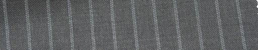 【P_6s18】ミディアムグレー地+1cm巾織りストライプ