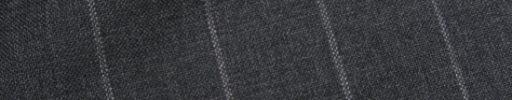 【Ca_01s801】チャコールグレー+2.5cm巾白ストライプ