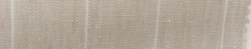 【Hs_sp44】ライトベージュ+2.8cm巾白ストライプ