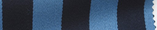 【Me_c064】ライトブルー×ネイビー1.9cm巾ストライプ