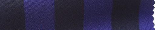 【Me_c066】パープル×ブラック1.9cm巾ストライプ