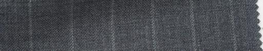 【Ib_6s038】ミディアムグレー地+1.4cm巾ストライプ