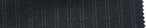 【Ib_6s048】チャコールグレー・ピンチェック+6ミリ巾織りストライプ