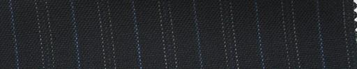 【Ib_6s065】濃紺地+1.5cm巾ブルー・ドット交互ストライプ