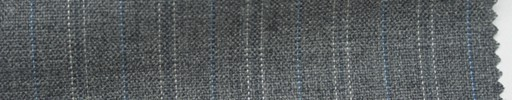 【Ib_6s066】ライトグレー地+1.5cm巾ブルー・ドット交互ストライプ