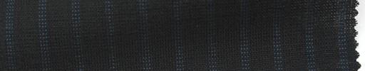 【Ib_6s096】黒地+7ミリ巾ブルーストライプ