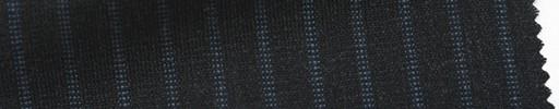 【Ib_6s097】チャコールグレー地+7ミリ巾ブルーストライプ