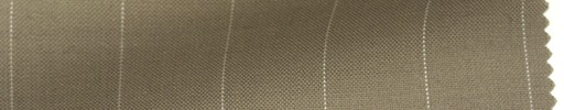 【Ib_6s121】ベージュ地+1.7cm巾白ストライプ
