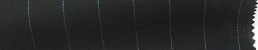 【Ib_6s127】黒地+1.2cm巾水色ストライプ