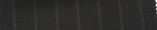 【Ib_5s137】黒茶地+1.3cm巾白ドット・織り交互ストライプ