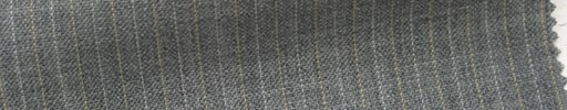 【Ib_5s140】ライトグレー柄+6ミリ巾薄オレンジ・ドット交互ストライプ