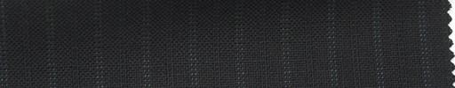 【Ib_5s145】黒地+9ミリ巾ブルードット・織り交互ストライプ