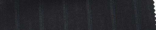【Ib_5s146】黒紺地+1.3cm巾ブルードットストライプ