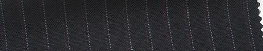 【Ib_5s194】黒紺地+7ミリ巾薄赤・白ストライプ
