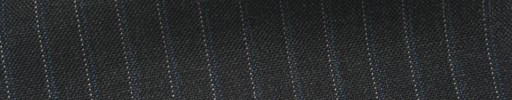 【Ib_5s195】チャコールグレー地+7ミリ巾ブルー・白ストライプ