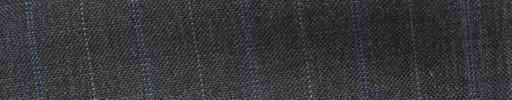 【Ib_5s199】ミディアムグレー地+1.9cm巾ブルー・白交互ストライプ