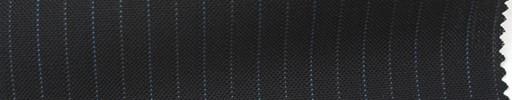 【Ib_5s200】黒紺地+9ミリ巾ブルー・グレー交互ストライプ