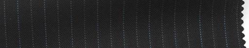 【Ib_5s202】黒茶地+9ミリ巾ブルー・グレー交互ストライプ