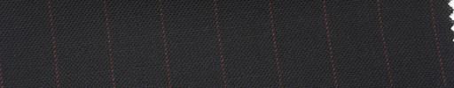 【Ib_5s203】黒紺地+1.2cm巾赤ストライプ