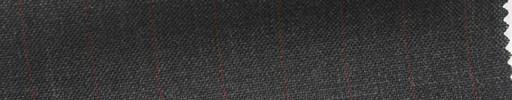 【Ib_5s204】ミディアムグレー地+1.2cm巾赤ストライプ