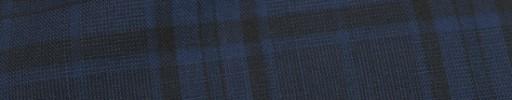【Mjt_8s05】ダークブルー黒8.5×6.5cmファンシーグレンチェック