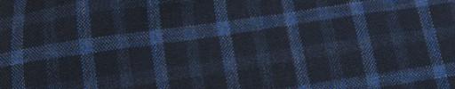 【Mjt_8s06】ネイビー+2cm×2cmブルー・オーバープレイド