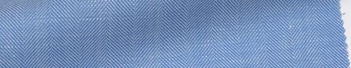 【Mjt_6s40】ライトブルー地2cm巾ヘリンボーン