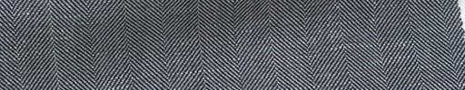 【Mjt_6s41】白黒地2cm巾ヘリンボーン