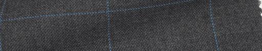 【Ew_5s001】グレー地+6×5cmブルーウィンドーペーン