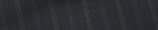 【Ew_5s031】濃紺地+1cm巾ブルー・白ドット交互ストライプ