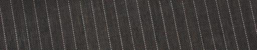 【Ew_5s035】ブラウン地+4ミリ巾白ストライプ
