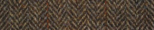 【Ht_5w009】赤茶1.6cm巾ヘリンボーン+ブラウンウィンドウペーン