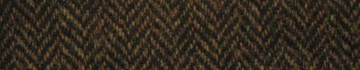 【Ht_5w019】ダークオレンジ黒ミックス1.6cm巾ヘリンボーン