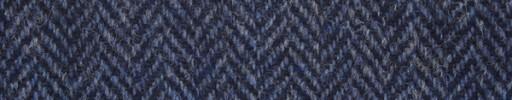 【Ht_5w025】ブルーイッシュパープル1.6cm巾ヘリンボーン