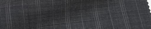 【Msh_6s46】グレー地+2.3cm巾白交互ストライプ
