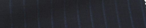 【Msh_6s52】黒紺地+1cm巾ブルードット・織りストライプ