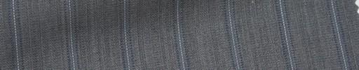 【Msh_6s63】ライトグレー地+1.8cm巾薄ブルー・ドットストライプ