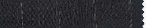 【P_6s14】濃紺地+2.2cm巾織り・赤ドット交互ストライプ