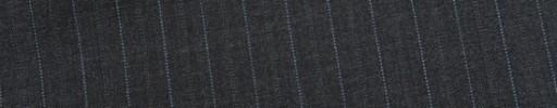 【Mic_9s090】チャコールグレー+1cm巾ブルー・グレーWドット交互ストライプ