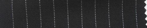 【Ha_fr39】ブラック+9ミリ巾白ストライプ
