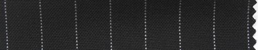 【Ha_fr42】ブラック+1.2cm巾白ストライプ