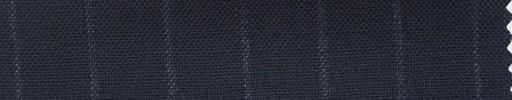 【Ha_fr46】ネイビー+1.3cm巾チョークストライプ