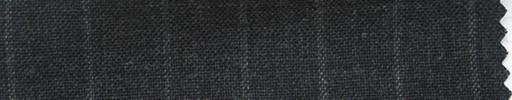 【Ha_fr47】チャコールグレー+1.3cm巾チョークストライプ