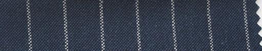 【Ha_fr49】ダークスチールブルー+1.2cm巾白ストライプ